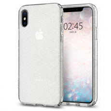 Чехол SGP Liquid Crystal Glitter для iPhone Xs Max, прозрачный, фото 1
