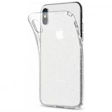 Чехол-накладка SGP Liquid Crystal Glitter для iPhone Х/Xs, полиуретан, прозрачный, фото 2
