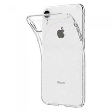Чехол-накладка SGP Liquid Crystal Glitter для iPhone XR, полиуретан, прозрачный, фото 4
