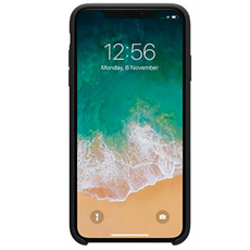 Чехол-накладка Nillkin Flex для iPhone XR, силикон, чёрный, фото 2