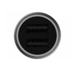 Автомобильное зарядное устройство Xiaomi Car Charger Fast Charge Version, 2 USB-А, серый, фото 2