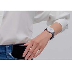 Гибридные смарт-часы Xiaomi Mijia Quartz Watch, синий, фото 2