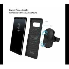 Держатель автомобильный Pitaka MagMount Qi Pro Vent USB-C, чёрный, фото 3