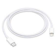 Кабель Apple, с USB-C на Lightning, 1 метр, белый, фото 1