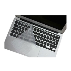 Накладка на клавиатуру i-Blason для MacBook Air 13, Pro Retina 13/15, силикон, прозрачный (US), фото 1