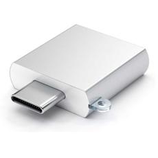 Переходник Satechi, с USB-C на USB-A (3.0), серебристый, фото 2