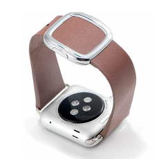 Ремешок COTEetCI W5 NOBLEMAN для Apple Watch 38/40 мм, коричневый, фото 1