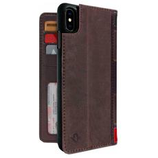Чехол-книжка Twelve South Book для iPhone XS Max, коричневый, фото 1