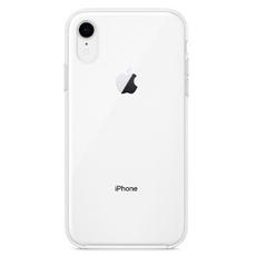 Чехол-накладка Apple для iPhone XR, силикон, прозрачный, фото 2