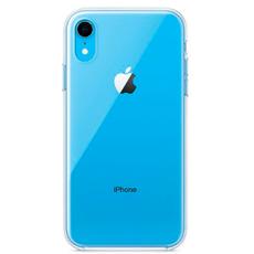 Чехол-накладка Apple для iPhone XR, силикон, прозрачный, фото 3