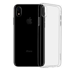Чехол-накладка Hoco Light Series TPU для iPhone XR, полиуретан, чёрный / прозрачный, фото 1