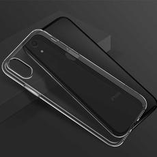 Чехол-накладка Hoco Light Series TPU для iPhone XR, полиуретан, чёрный / прозрачный, фото 3