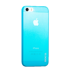 Чехол Hoco Ultra Thin Series case для iPhone 5, 5S и SE, голубой, фото 1
