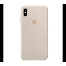 Чехол-накладка Apple для iPhone Xs, силикон, бежевый, фото 1