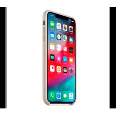 Чехол-накладка Apple для iPhone Xs, силикон, бежевый, фото 3