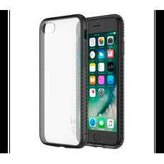 Чехол-накладка LAB.C Mix & Match для iPhone 5/5s/SE, полиуретан, серый / прозрачный, фото 2