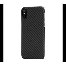 Чехол-накладка Pitaka MagCase для iPhone Х/XS, карбон, чёрный / серый, фото 1