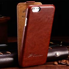 Чехол-флип HOCO Retro Fashion Vintage Style для iPhone 6/6s, эко-кожа, коричневый, фото 1