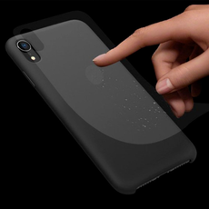 Чехол-накладка Nillkin Flex для iPhone XR, силикон, чёрный, фото 4