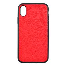 Чехол TORIA TOGO для iPhone X/Xs, поликарбонат / кожа, красный, фото 1