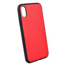 Чехол TORIA TOGO для iPhone X/Xs, поликарбонат / кожа, красный, фото 2