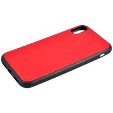 Чехол TORIA TOGO для iPhone X/Xs, поликарбонат / кожа, красный, фото 3
