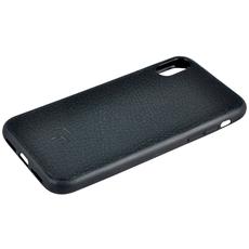 Чехол TORIA EPSOM для iPhone XS Max, поликарбонат / кожа, чёрный, фото 4