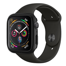 Чехол SGP Thin Fit для Apple Watch Series 4, 44 mm, чёрный, фото 2