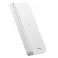 Внешний аккумулятор Baseus M36 Wireless Charger, 2 USB-A, Micro-USB, 10000 mAh, белый, фото 1