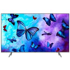Телевизор Samsung Q6F 4K Smart QLED TV, 49 дюймов (124 см), тёмно-серый, фото 1