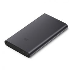 Внешний аккумулятор Xiaomi Mi Power Bank 2i, 2 USB-A, Micro-USB, 10000 mAh, чёрный, фото 1