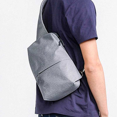 Рюкзак Xiaomi SMulti-functional Urban Leisure Chest Pack, светло-серый, фото 4
