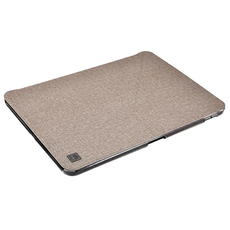 Чехол Uniq Yorker Kanvas Plus для iPad Pro 11, с функцией зарядки стилуса, бежевый, фото 4