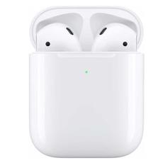 Беспроводные наушники Apple AirPods с возможностью беспроводной зарядки, белый, фото 1