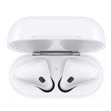 Беспроводные наушники Apple AirPods с возможностью беспроводной зарядки, белый, фото 3