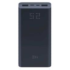 Внешний аккумулятор Xiaomi Mi ZMI Aura Power Bank, USB-A, USB-C, 20000 mAh, чёрный, фото 1