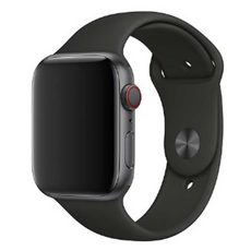 Ремешок Devia Deluxe Series Sport 3 Band для Apple Watch 4 44mm, чёрный, фото 1