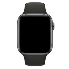 Ремешок Devia Deluxe Series Sport 3 Band для Apple Watch 4 44mm, чёрный, фото 2