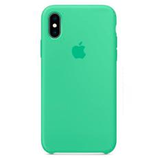 """Чехол-накладка Apple для iPhone Xs, силикон, """"нежная мята"""", фото 1"""
