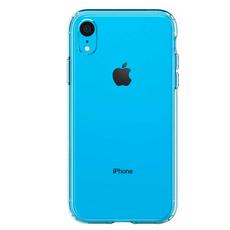 Чехол-накладка SGP Crystal Flex для iPhone XR, полиуретан / поликарбонат, прозрачный, фото 1