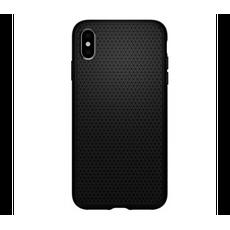 Чехол-накладка SGP Liquid Air для iPhone Х/Xs, полиуретан, чёрный, фото 1