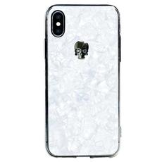 Чехол-накладка Bling My Thing Tresure Hematite Skull для iPhone Xs MAX, с кристаллами Swarovski, белый, фото 1