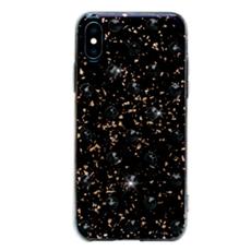 Чехол-накладка Bling My Thing Extravaganza Polka Dots Jet для iPhone X/Xs, с кристаллами Swarovski, чёрный, фото 1