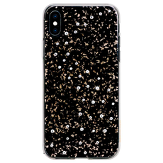 Чехол-накладка Bling My Thing Papillon для iPhone XS Max, с кристаллами Swarovski, чёрный, фото 1