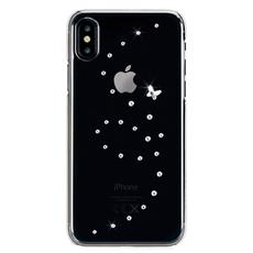 Чехол-накладка Bling My Thing Papillon Pure Brilliant для iPhone Xs Max, с кристаллами Swarovski, прозрачный, фото 1