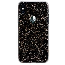 Чехол-накладка Bling My Thing Treasure, Silver Skull для iPhone XS Max, с кристаллами Swarovski, чёрный, фото 1