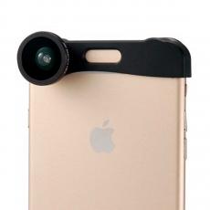 Объектив (3 в 1) для iPhone 6 Plus.черный. PHO-FWM-6, фото 3