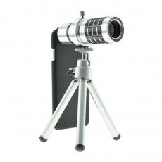 Фото объектива для iPhone 6 и 6s Magnifier Zoom Aluminum Camera Telephoto, с триподом