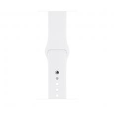 Apple Watch Series 1, 42 мм, корпус из серебристого алюминия, спортивный ремешок белого цвета trade-in, фото 2