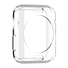 Чехол для Apple Watch 42mm Spigen Liquid Crystal Case, кристально-прозрачный, фото 1
